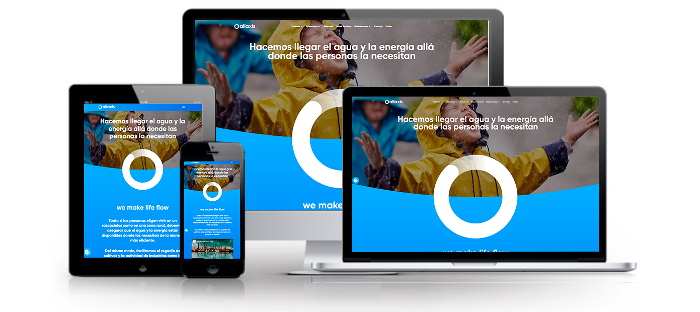 Web Multidispositivo Aliaxis