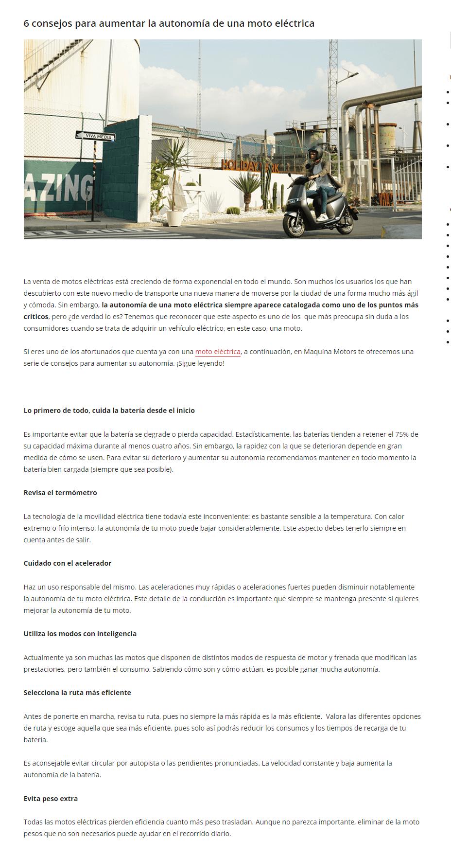 Blog de Maquina Motors