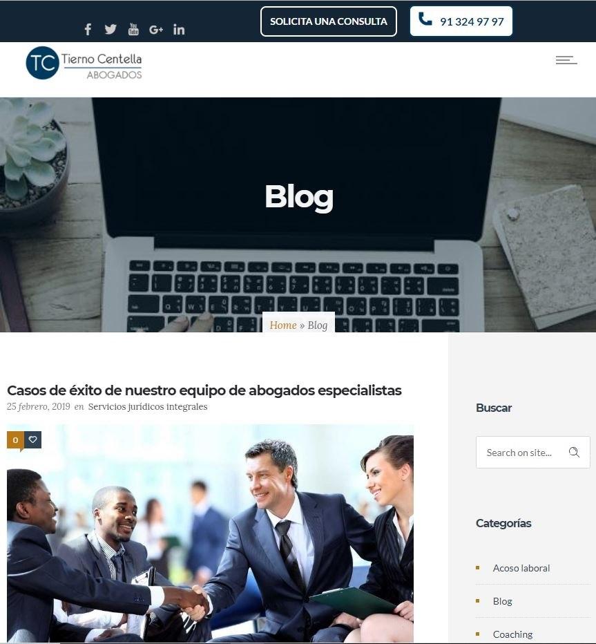 Abogados Tierno Centella Blog