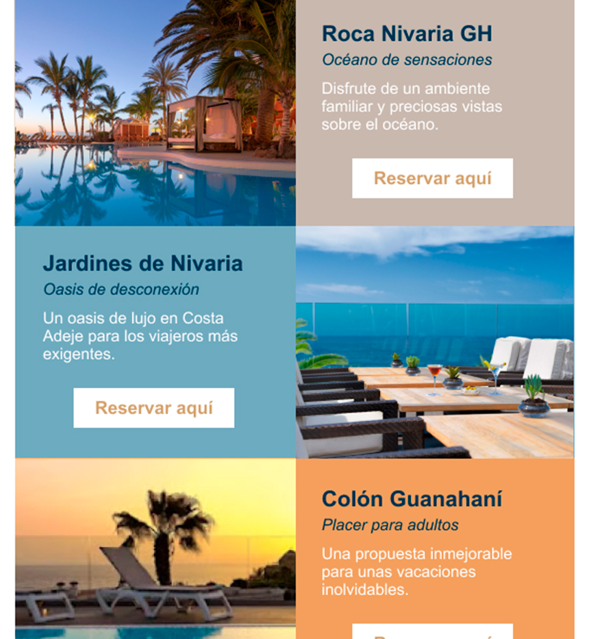 Web Adrián Hoteles