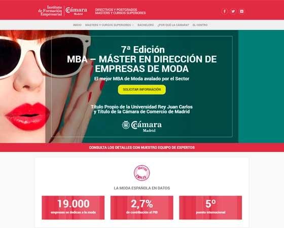 Campañas Cámara Comercio Madrid