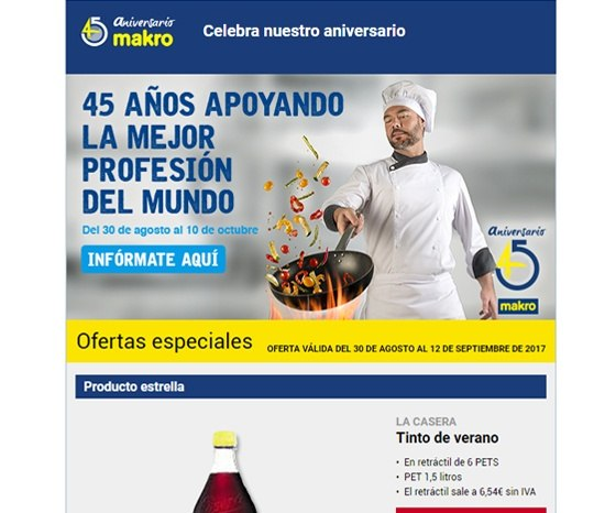 makro email marketing - 2
