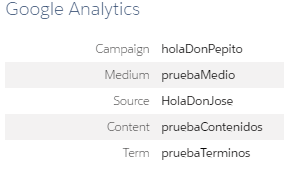 Variables utm en Google Analytics