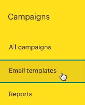 Haz clic enEmailtemplates