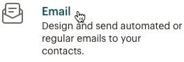 Haz clic en email
